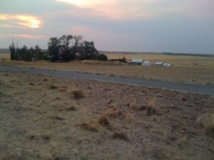 CRP Disked Fields and Wild Fire Smoke