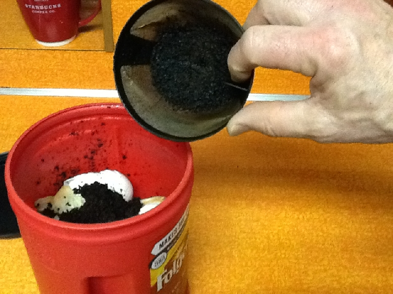 Used Coffee Grounds phase one
