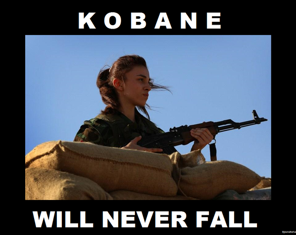 Woman Kurdish Fighter
